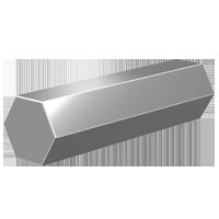 Nickel Alloy 200 Hex Bar